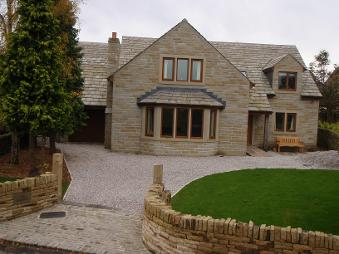 Bespoke Timber Frame New Build House, Scholes, Yorkshire