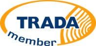 We are proud members of TRADA. Timber Frame.